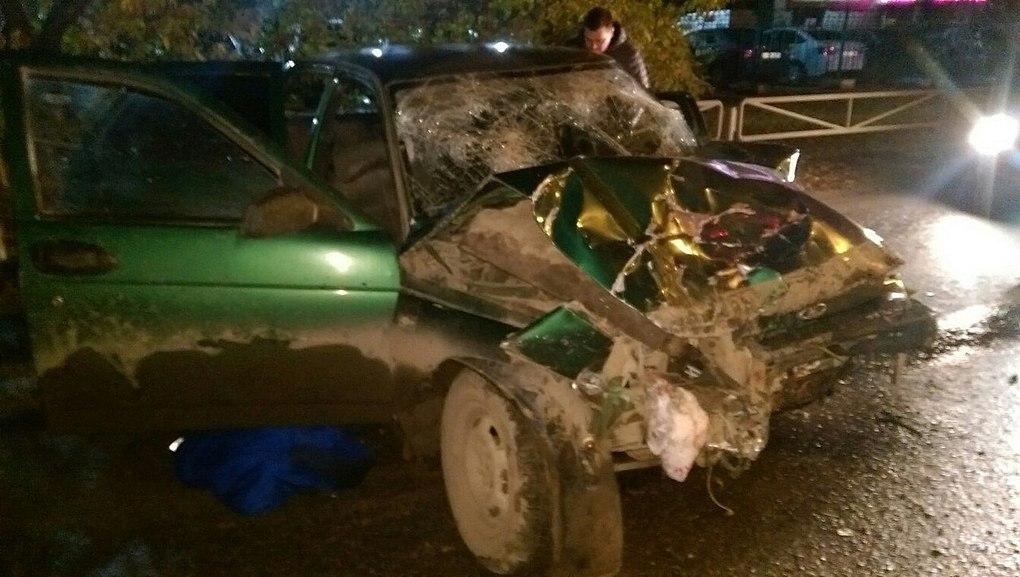 ВПерми нетрезвый шофёр врезался виномарку, есть трое пострадавших