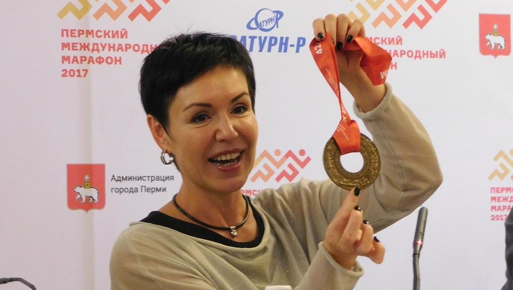 ВПерми впервый раз показали медали Пермского интернационального марафона