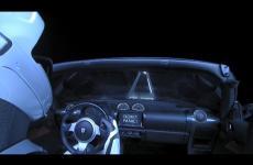 "Embedded thumbnail for Автомобиль ""Тесла"" запустили в космос: прямая трансляция"
